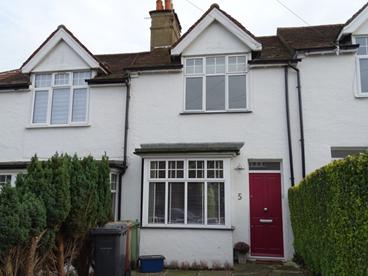Mid Terrace cottage in Bushey, Hertfordshire.