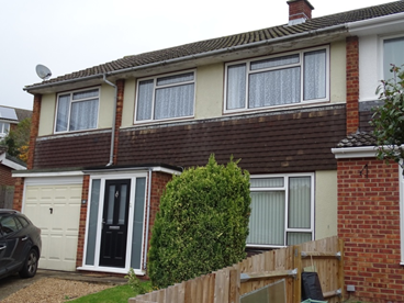 4 Bedroomed extended semi in Dunstable.