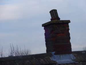 Loose chimney pot