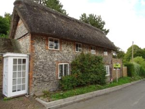 2 Bedroomed Flint and Thatched Cottage Great Kimble, Buckinghamshire.