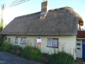 Thatched Listed property in Cambridgeshire